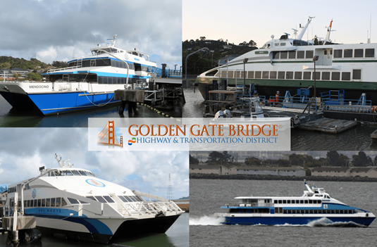 4 of the Golden Gate Ferry's Fleet